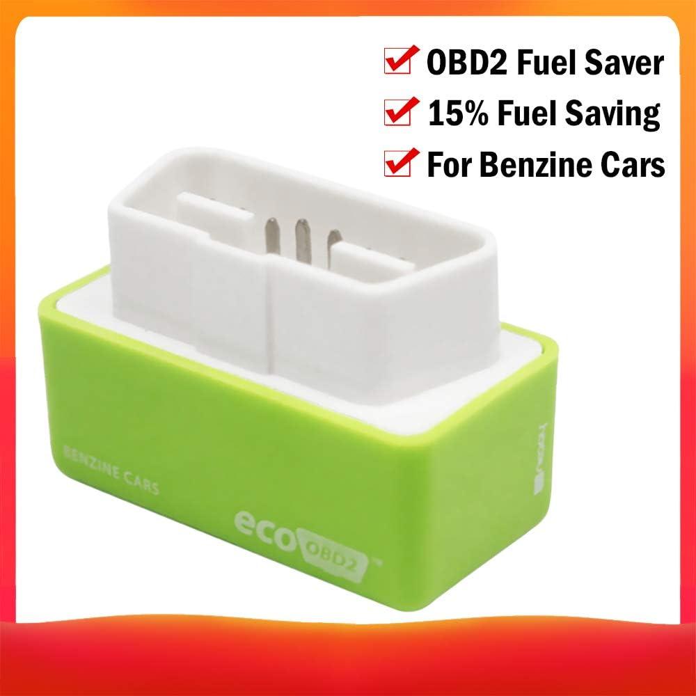Leslaur Puce Universelle de bo/îte de Accord /économie de Carburant /économie Essence Eco OBD2 pour Le gaz Essence