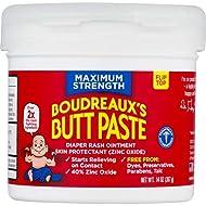 Boudreaux's Butt Paste Diaper Rash Ointment, Maximum Strength, 14 Oz