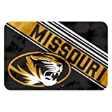 The Northwest Company Officially Licensed NCAA Missouri Tigers Raschel Rug with Non-Skid Backing, 20'' x 30''