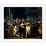 """Alonline Art - The Nightwatch Rembrandt 