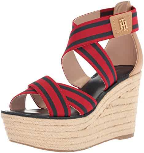 Tommy Hilfiger Women's Theia Espadrille Wedge Sandal