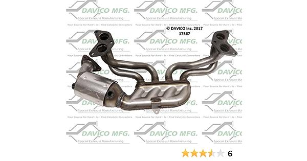 Catalytic Converter Front Davico 17128