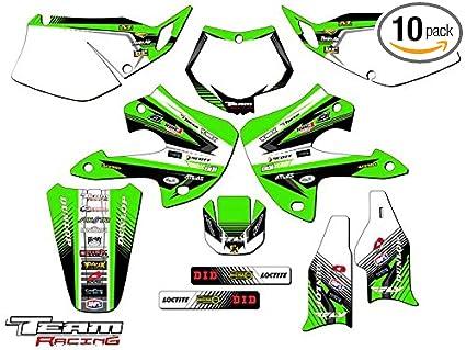 Amazon com: Team Racing Graphics kit for 1997-2008 Kawasaki