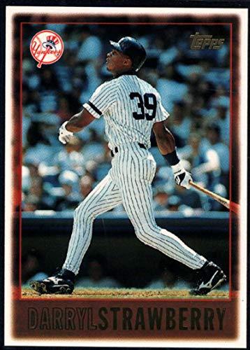 Darryl Strawberry Yankees - Baseball MLB 1997 Topps #282 Darryl Strawberry Yankees