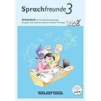 Sprachfreunde - Ausgabe Süd (Sachsen, Sachsen-Anhalt, Thüringen) - Neubearbeitung 2015: 3. Schuljahr - Arbeitsheft: Schulausgangsschrift