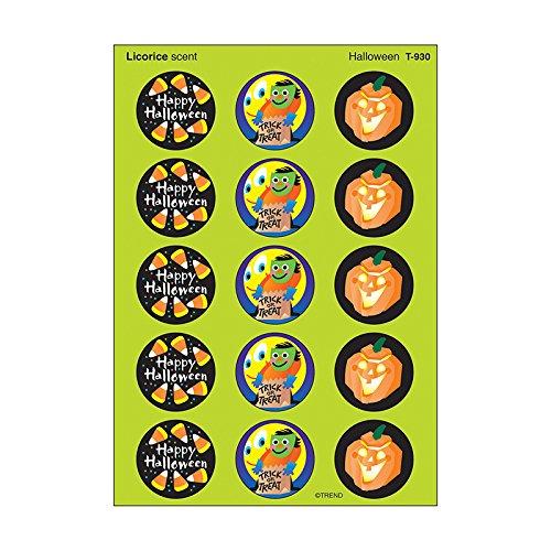 TREND enterprises, Inc. Halloween/Licorice Stinky Stickers, 60 ct.