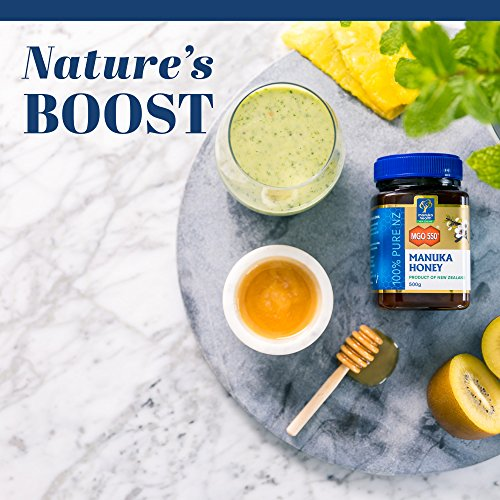 Manuka Health - MGO 550+ Manuka Honey, 100% Pure New Zealand Honey, 8.8 oz (250 g) by Manuka Health (Image #7)