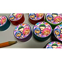 12 TEAM UMIZOOMI pencil sharpeners for birthday party favors SCHOOL