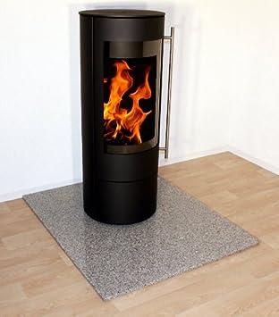 Granit-Placa de protección de chispa horno debajo de la base para chimenea, pellet estufa, chimenea Rectangular F05b - 100 x 100 cm: Amazon.es: Juguetes y ...