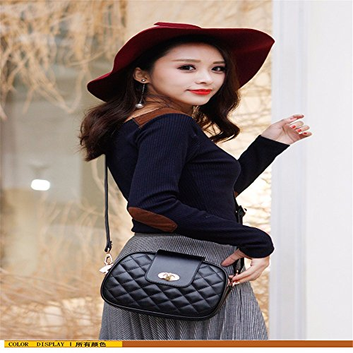 Casual Shoulder Cross Pockets gules with Vintage Bags MSZYZ PU Shoulder Many Soft Large Body Small Capacity Women's Shoulder Leather Clutch Wristlet qB5n8tSw