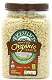 RiceSelect Organic Texmati Brown Rice, 32-Ounce Jars (Pack of 4)