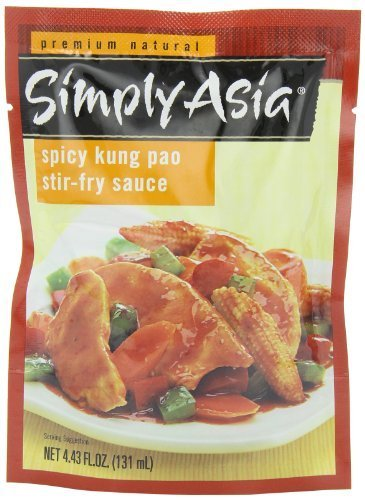 Simply Asia Spicy Kung Pao Stir Fry Sauce, 4.43 Ounce (Pack of 6) by Simply Asia
