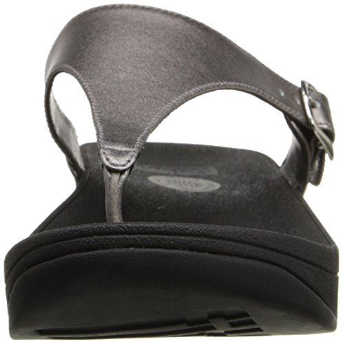 Fitflop the Skinny, Chanclas para Mujer Pewter