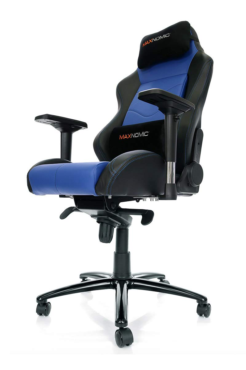 Amazon.com: MAXNOMIC Dominator (Blue) Premium Gaming Office & Esports Chair: Kitchen & Dining