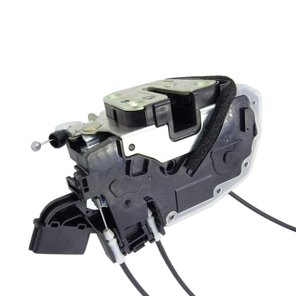 Door Lock Actuator w//Cables Front Driver Left Side LH Hand 80501JM10A fit for Nissan Rogue 2008 2009 2010 2012 2013