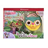 American Girl Welliewishers 3 Book Set plus Owl Coin Purse for Girls