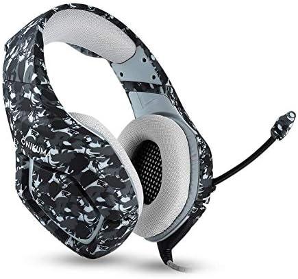 RENKUNDE 三色で利用できるワイヤレスゲーミングヘッドセットヘッドフォン小麦デュアルオーディオ音質でシンプルなBluetoothヘッドセット ゲーミングヘッドセット (Color : Camouflageyellow)