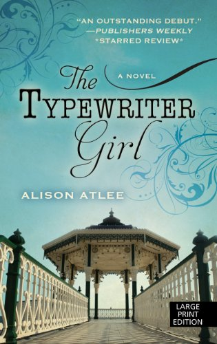 book cover of The Typewriter Girl