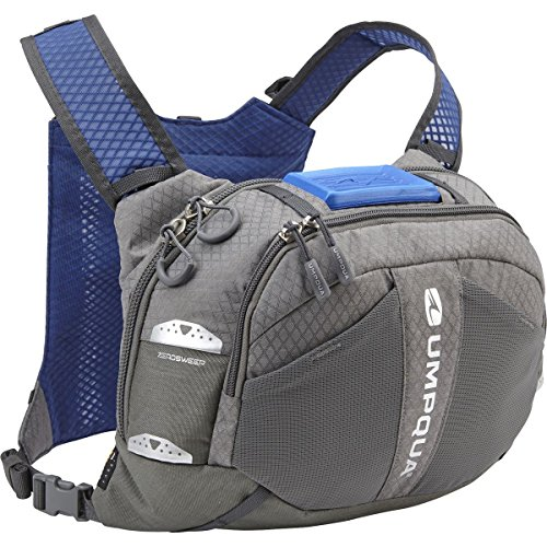 Umpqua Overlook 500 ZS Chest-Pack - 500cu in Granite, One Size