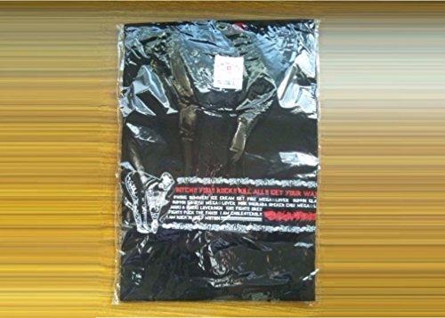 マキシマムザホルモン 恋のメガラバ Tシャツ 黒 Lの商品画像