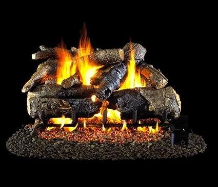 amazon com r h peterson chaog4 2 24 24 charred american oak rh amazon com rh peterson gas fireplace inserts
