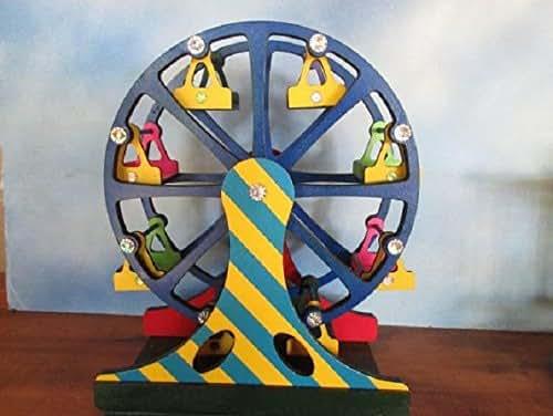 Gnome Garden: Amazon.com: Fairy Garden Miniature Carnival Ferris Wheel