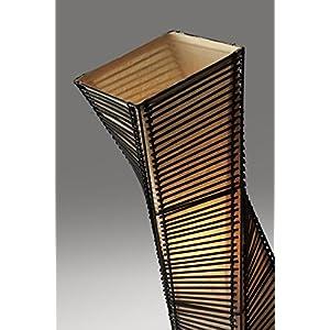 Adesso 4046-01 Stix 50″ Floor Lantern, Black, Smart Outlet Compatible