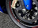 Suzuki GSX-R1000 GSX-R600 GSX-R750 Logo Wheel Rim Decals 2007-2016