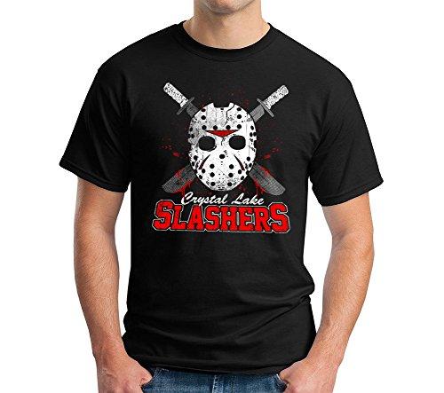 Ride Mens Machete - BigtimeTeez Crystal Lake Slasher T-Shirt