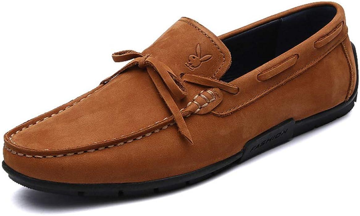 Zapatillas De Mocasín Para Hombres Casa De Espuma De Memoria Mocasines Con Suela De Goma Para Interiores Zapatillas De Guisantes Zapatos De Moda