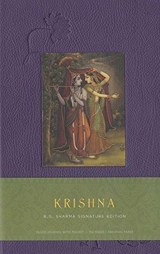 Krishna Hardcover Ruled Journal: B.G. Sharma Signature Edition (Insights Journals)