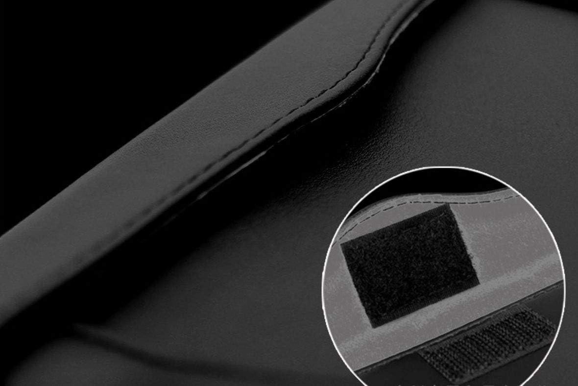 Leather Crystals Paper Towel Cover Case for Women EGBANG Bling Bling Car Visor Tissue Holder Ladies White Crystal