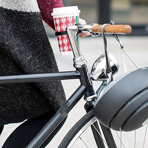 Wuderland Titular de la botella de la bici delantera del agua de bicicletas botella de agua de la bici sostenedor del montaje del manillar de aleación de aluminio de café taza de