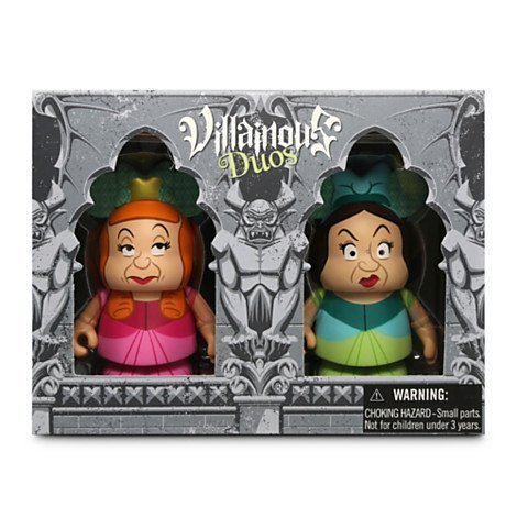 Disney Vinylmation Villainous Duos Series 3'' Figure Set - Anastasia & Drizella, Cinderella