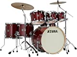 Tama Superstar Classic 7-piece Shell Pack - Cherry Wine Lacquer