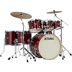 Tama Superstar Classic 7-Piece Shell Pack - Cherry Wine Lacquer 1