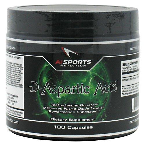 Cerveau Toniq D-acide aspartique 180 Capsules