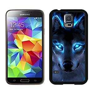 WOLF Black Samsung Galaxy S5 Screen Cover Case Newest and Fashion Design