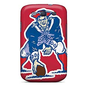 Awesome New England Patriots Flip Cases With Fashion Design For Galaxy S3