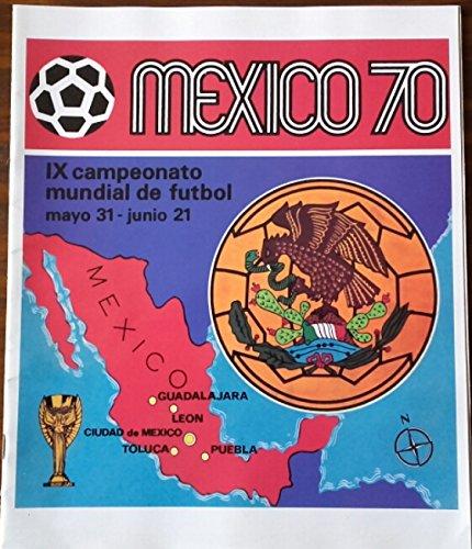 Panini OFFICIAL ALBUM WORLD CUP MEXICO 1970 REPRINT 2014 (Reprint Album)