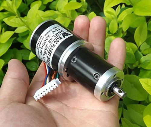 Fetcus 12V DC brushless motor Planetary Gear Motor 1:27 3000 Variable speed ()