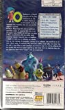 Monsters, Inc. (2001) 97 Min. Animation, Comedy Vhs Pal Video with Greek Subtitles Disney - Pixar