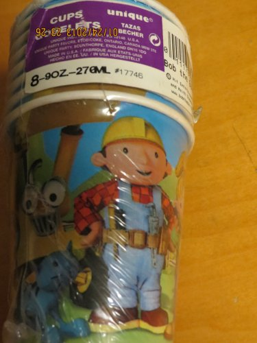 Bob the Builder Paper Cups (8ct)