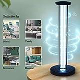 Ultraviolet Disinfect Lamp UV-C, Portable Sanitizer Light, Mobile Room Steriliser, for Car Household School Hotel Pet Area