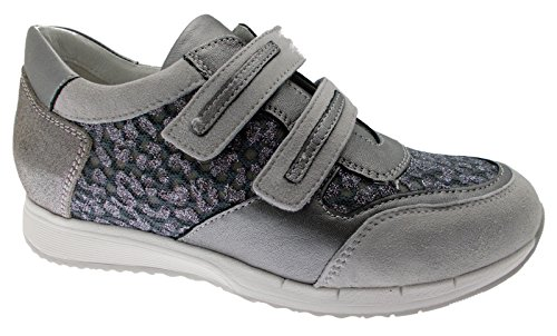 Loren C3794 Velcro Gray Orthopedic Footbed Sneaker Prepared 40 Ln9sj1