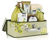 Luxury Spa Gift Basket, PURE Spa Basket -Bath and
