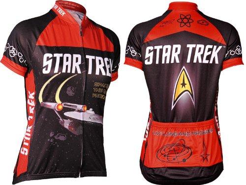 1b7fc307a Beam up a Star Trek cycling jersey - Novelty Cycling Gear