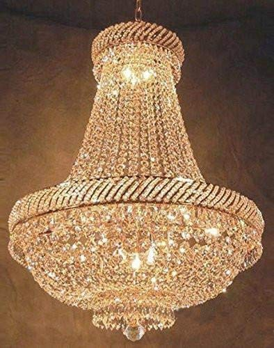 (French Empire Crystal Chandelier Chandeliers Lighting H26
