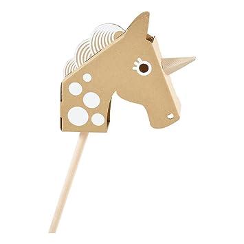 Flatout Frankie Little Unicorn Head Einhorn Amazonde