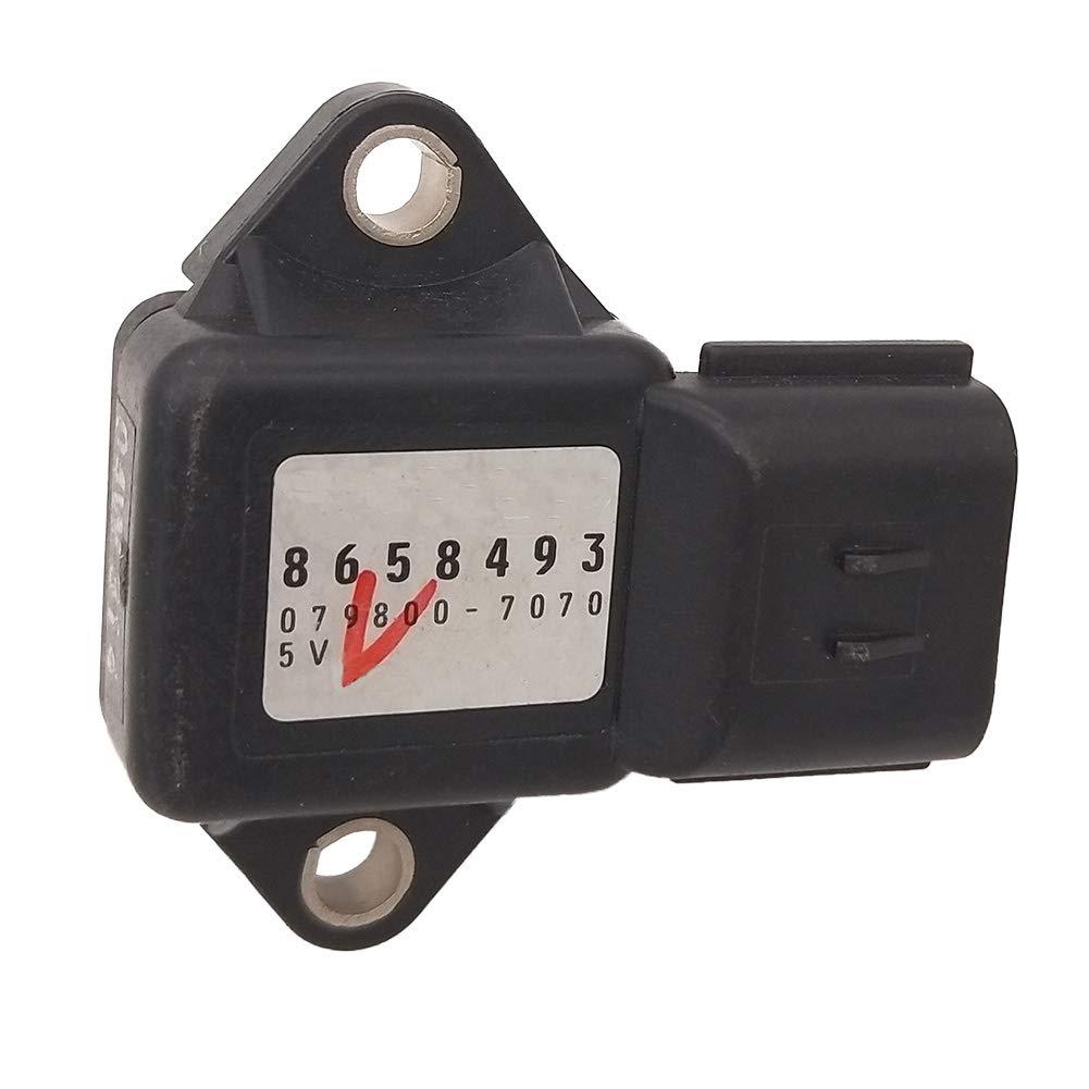 MAP Manifold Pressure Sensor 079800-7070 For Volvo C30 C70 S40 V50 2.4L 8658493